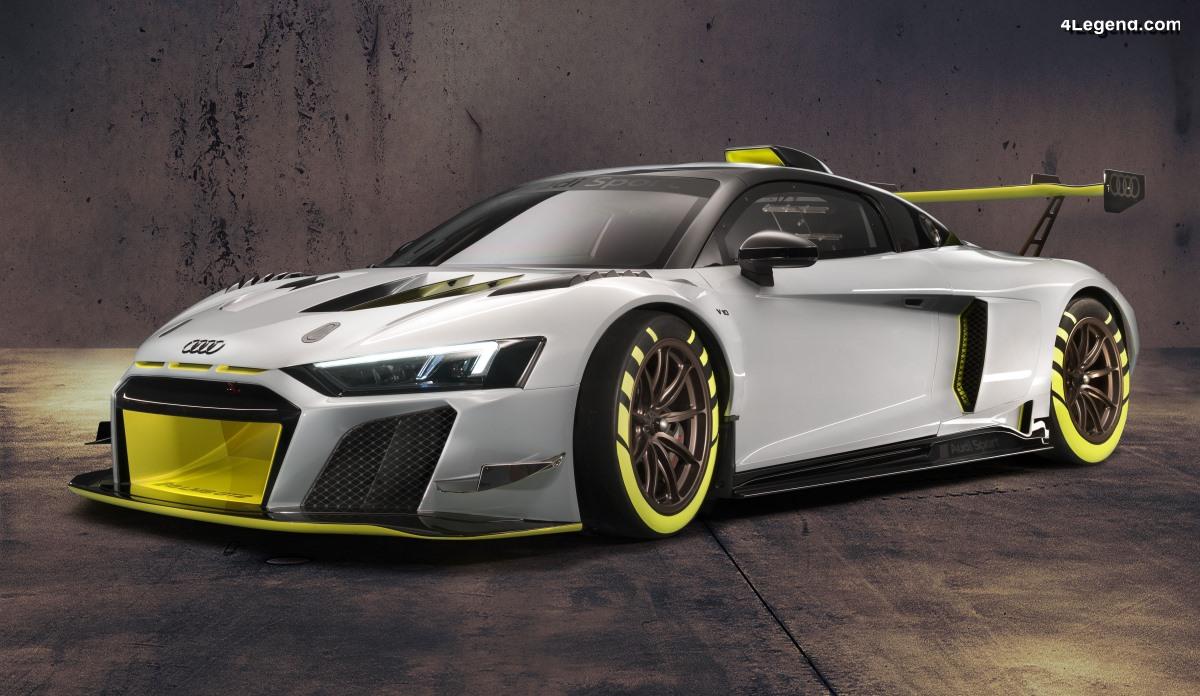 Audi R8 LMS GT2 - Une évolution de l'Audi R8 LMS avec 640 ch