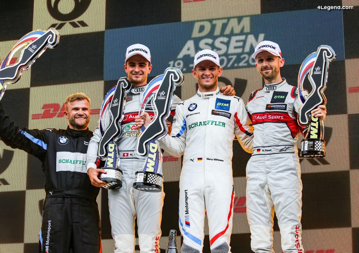 DTM - Double podium pour Audi dans une bataille sous la pluie à Assen