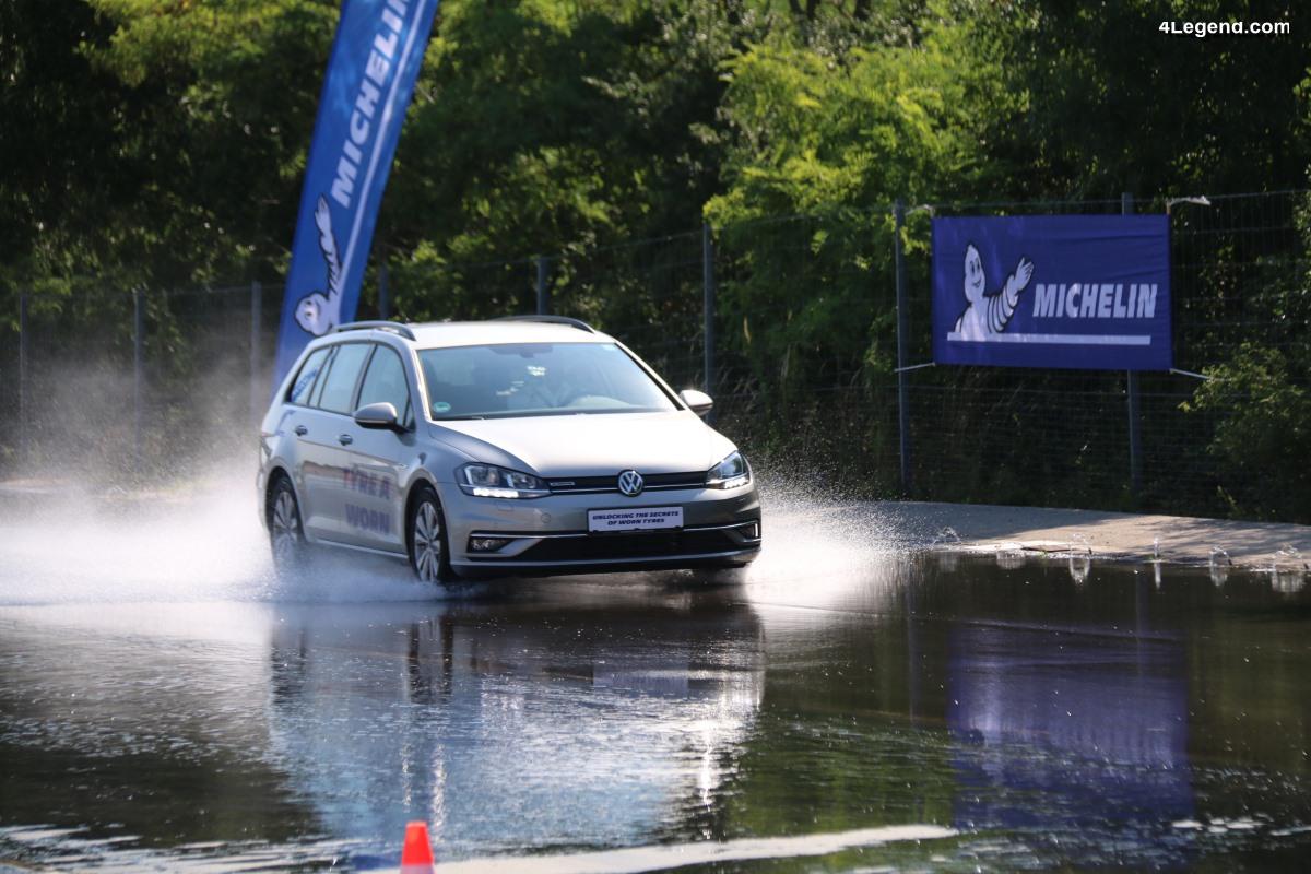 Essais et secrets des pneus usés - Michelin s'engage pour plus de sécurité