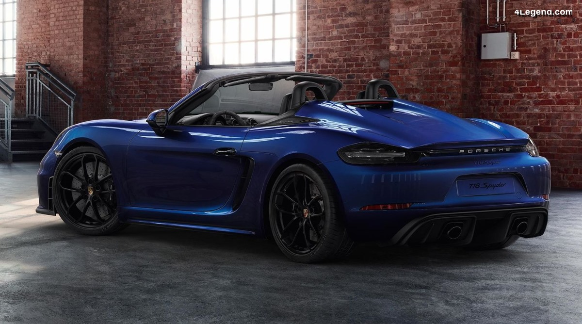 Porsche 718 Spyder par Porsche Exclusive Manufaktur