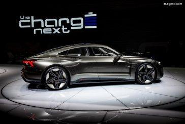 Audi teste virtuellement les processus de montage de l'e-tron GT
