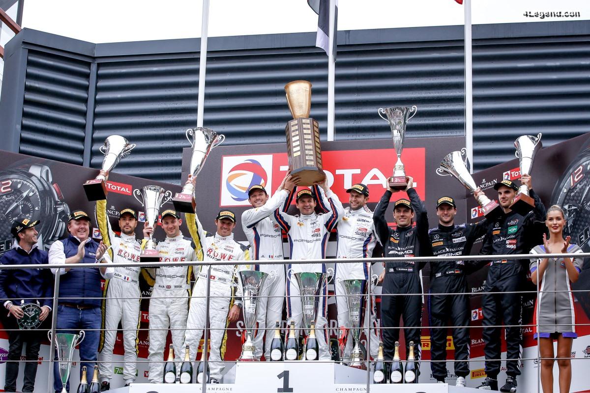 24H Spa 2019 - Septième victoire de Porsche avec une 911 GT3 R