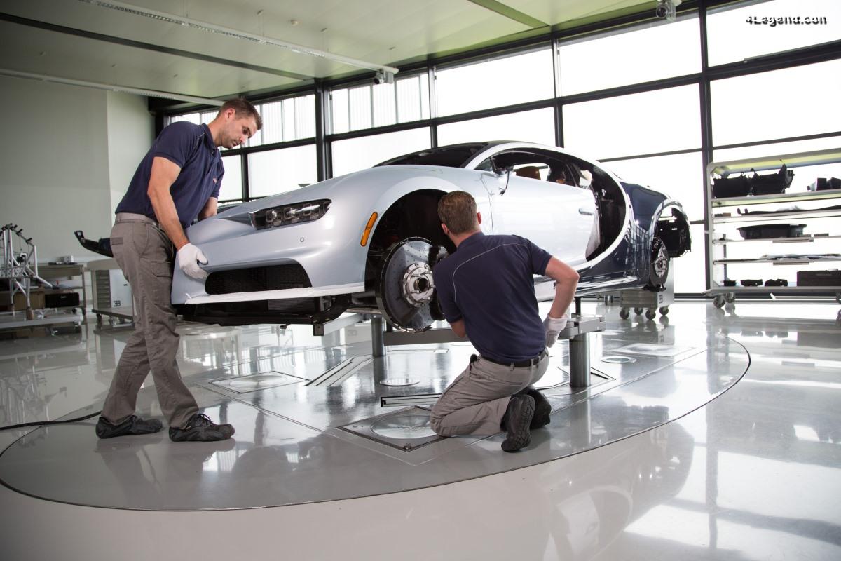 40 000ème jour pour Bugatti - Une journée type dans l'usine de Molsheim