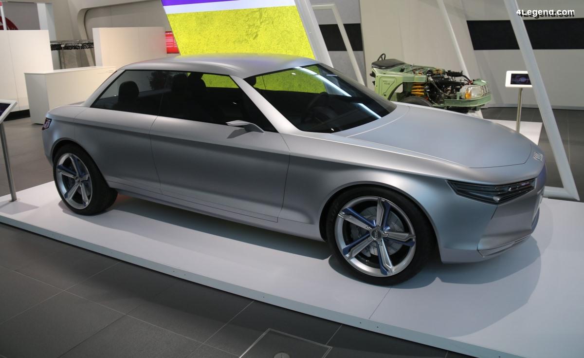 Audi Felix de 2010 - Un concept car en hommage à la NSU Ro 80