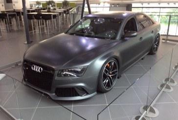 Audi RS 8 de 2013 – Un prototype unique de 520 ch