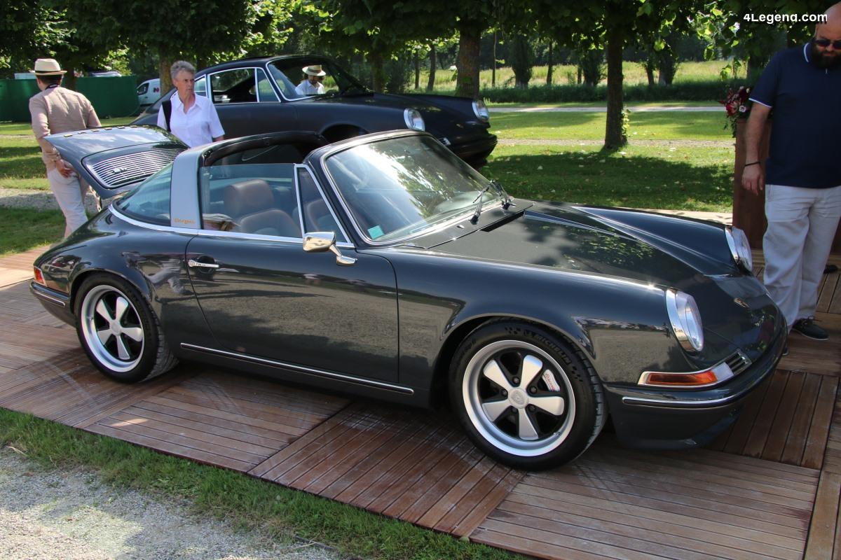 Chantilly 2019 - Porsche 911 Targa & Coupé en carbone par Ateliers Diva