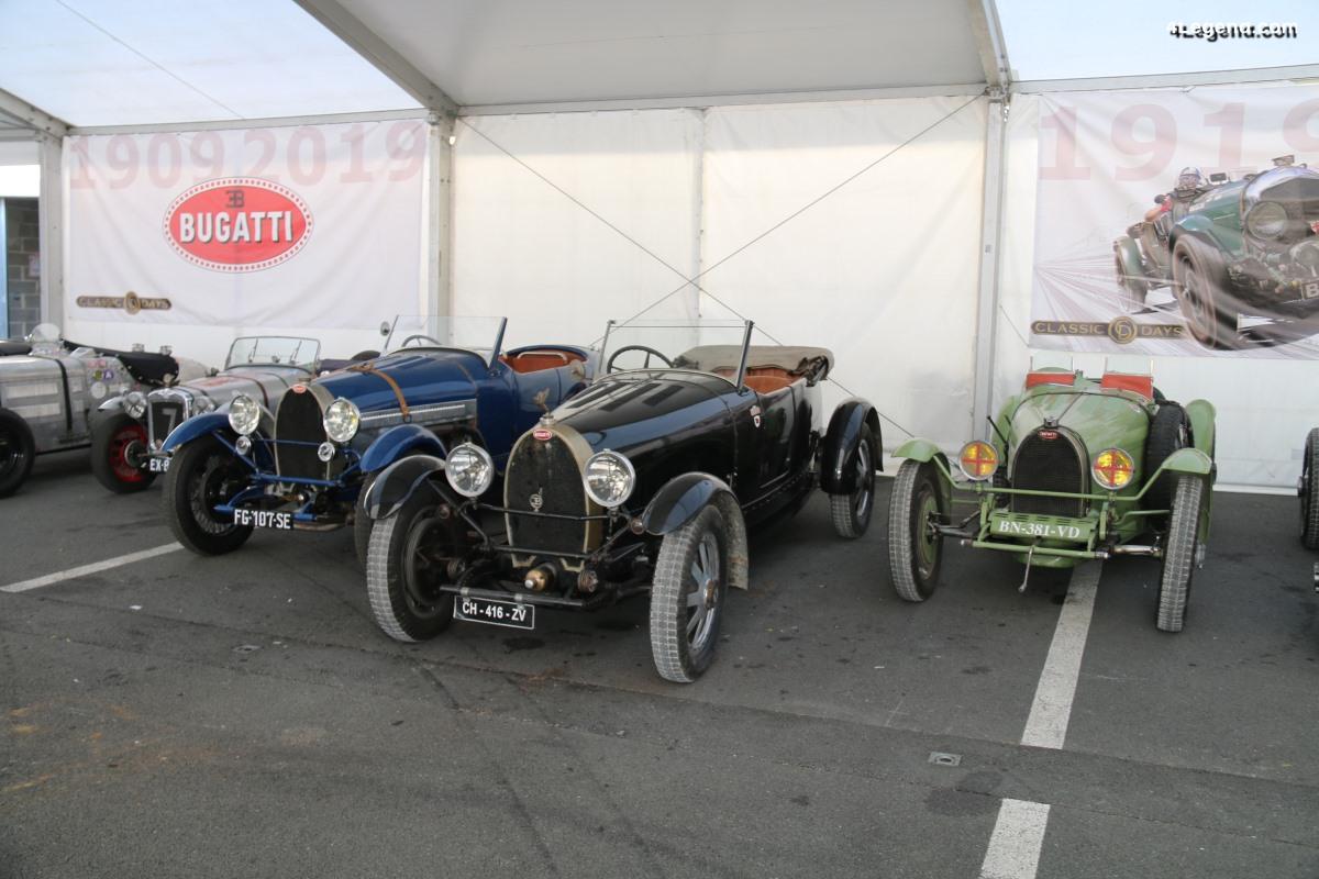 Classic Days 2019 - 110 ans de Bugatti célébrés en beauté