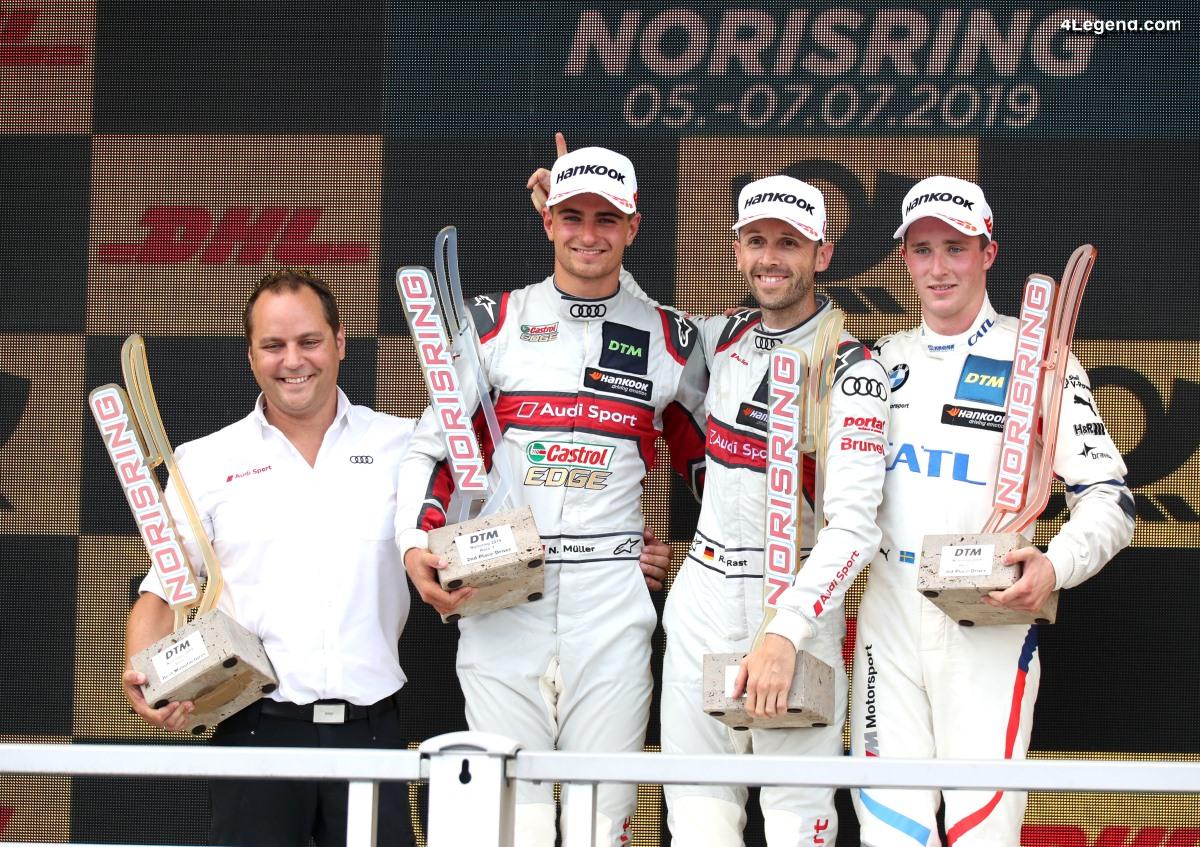 DTM - Doublé Audi avec la victoire de René Rast au Norisring 2019