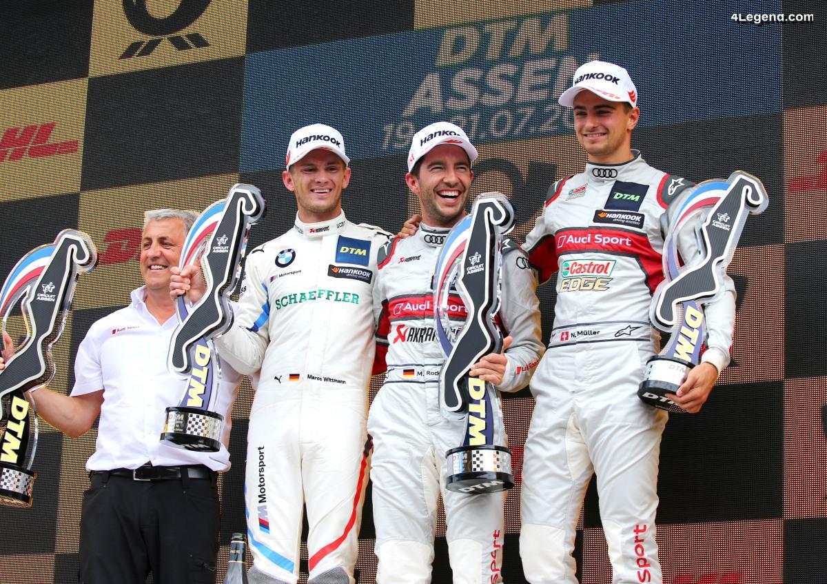 DTM - Victoire Audi à Assen avec Mike Rockenfeller