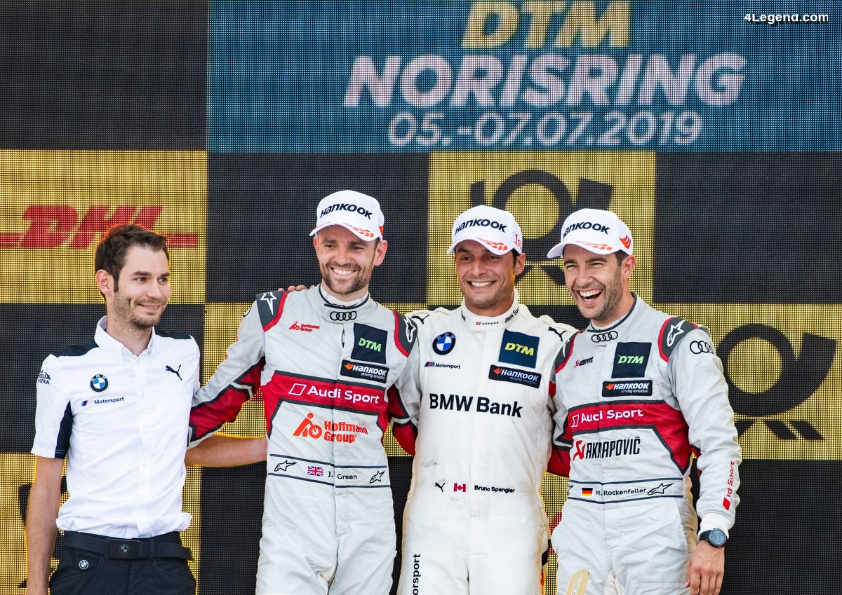 DTM - Podium pour Audi le dimanche au Norisring 2019