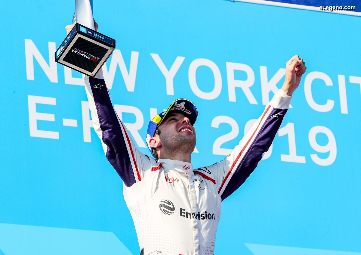 Formule E - Victoire en finale pour Audi à New York