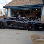 Une Lamborghini Aventador réalisée en impression 3D