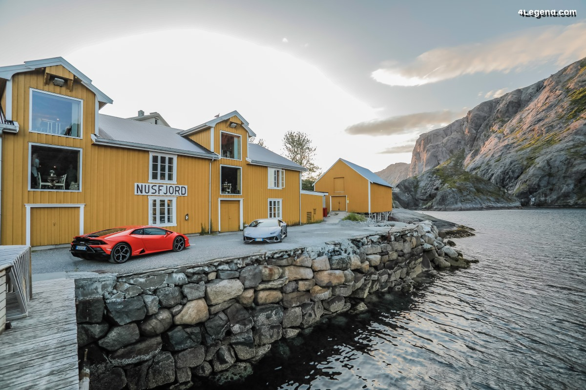 Lamborghini Avventura 2019 - Une expédition en Huracán EVO en Norvège