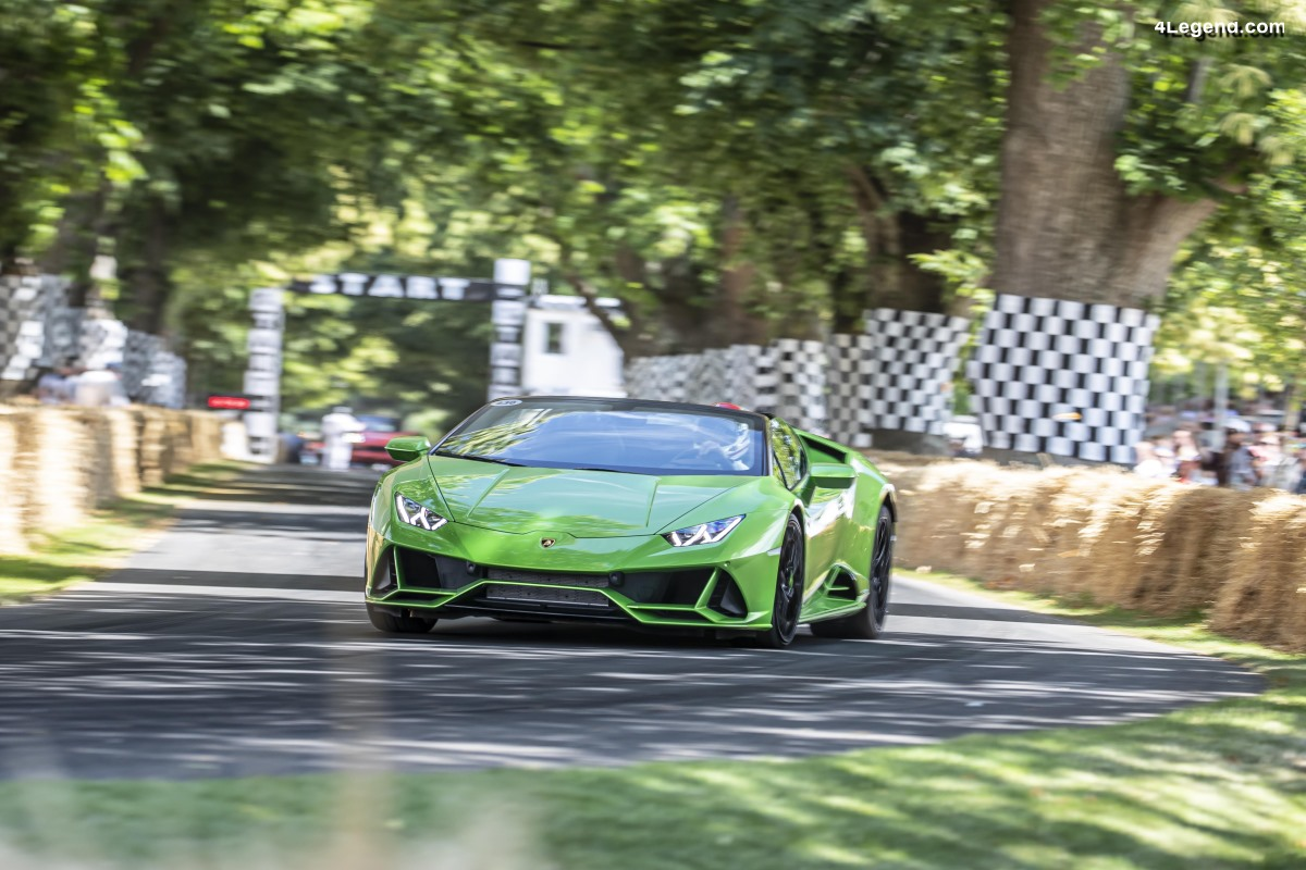Lamborghini au Goodwood Festival of Speed 2019