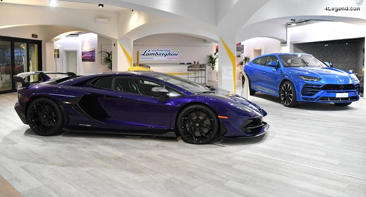 Un nouveau Lounge Lamborghini à Porto Cervo