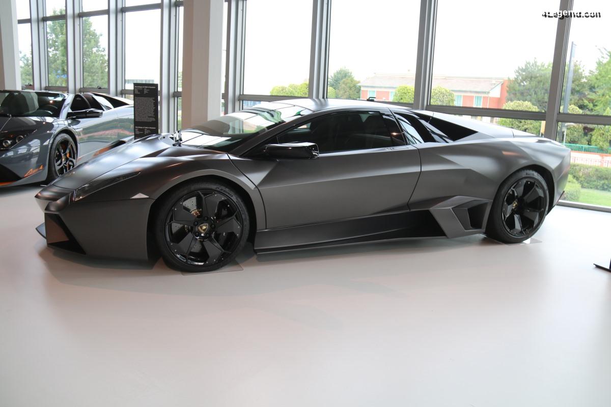 Lamborghini Reventón Coupé de 2007 - Une supercar exclusive produite à 20 exemplaires
