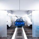 Automobili Lamborghini inaugure son nouvel atelier de peinture à Sant'Agata Bolognese
