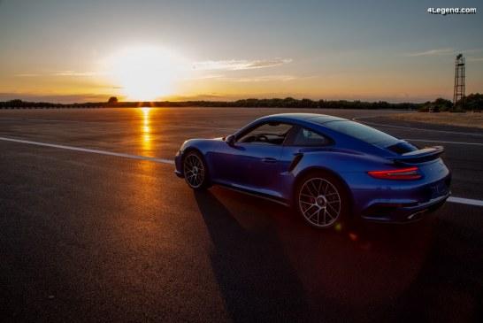 Rénovation des pistes d'essai du centre technique de Nardò, géré par Porsche