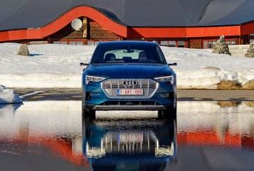 Destination le cercle polaire arctique avec l'Audi e-tron