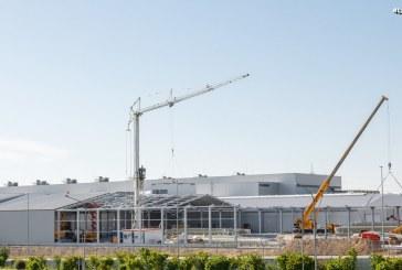 Préparation de l'usine Audi Böllinger Höfe à la production de l'Audi e-tron GT