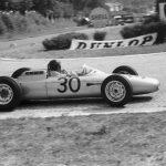 Victoire de Porsche sur l'ancien circuit de Rouen-les-Essarts en 1962