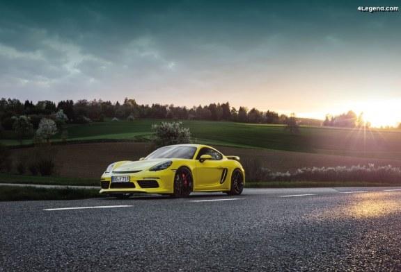 Des packs performances Techart pour les Porsche 718 à motorisation 4 cylindres turbo