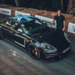 Présentation de la Porsche Taycan au Goodwood Festival of Speed 2019