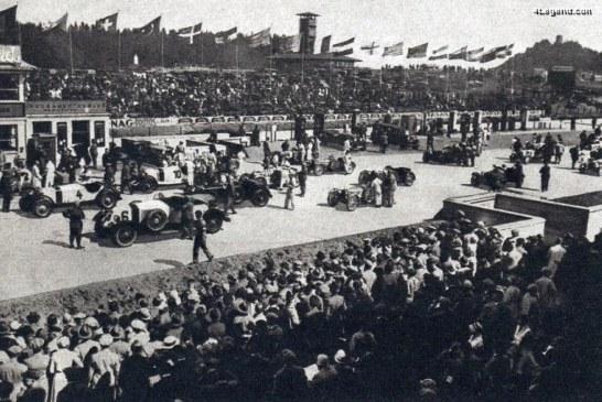 Bugatti a gagné le Grand Prix des Nations de 1929