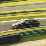 Première apparition publique de la nouvelle Porsche Taycan à Shanghai