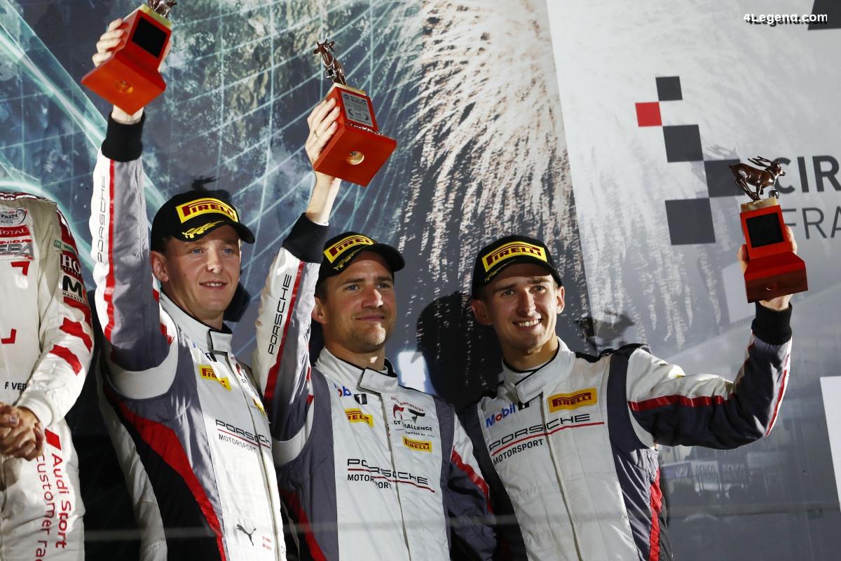 10 Heures de Suzuka 2019 - Podium pour la Porsche 911 GT3 R