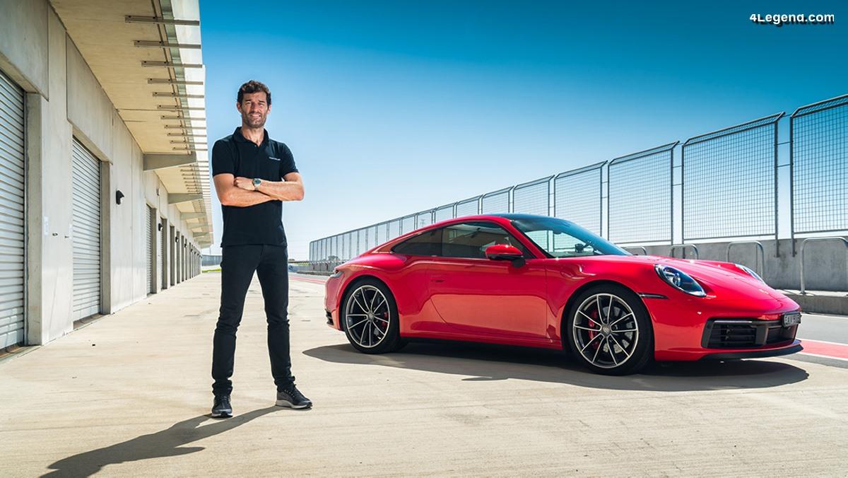 Six raisons pour lesquelles Mark Webber aime la nouvelle Porsche 911