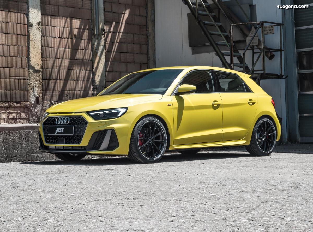 ABT Audi A1 - 240 ch et 360 Nm pour le 40 TFSI