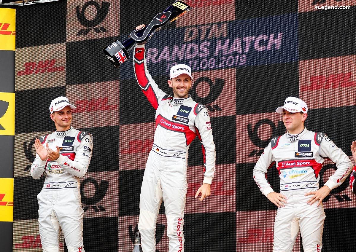DTM - Triplé pour Audi à Brands Hatch
