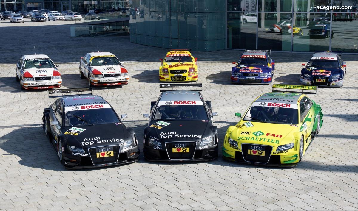 500ème course DTM - rétrospective d'Audi en DTM