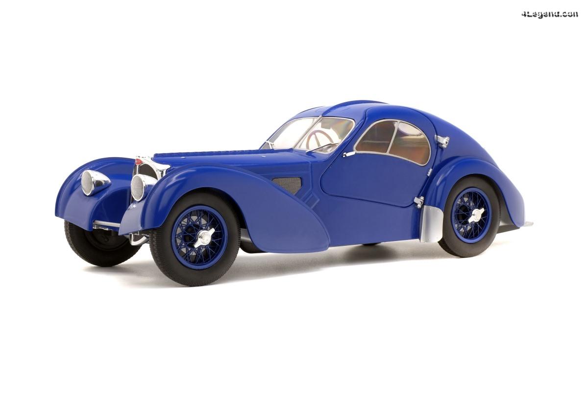 Miniature 1:18 Bugatti Type 57 SC Atlantic - Solido