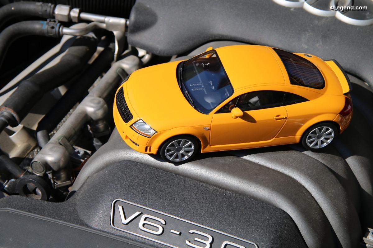 Présentation miniature 1:18 Audi TT 3.2 Coupé quattro - DNA Collectibles