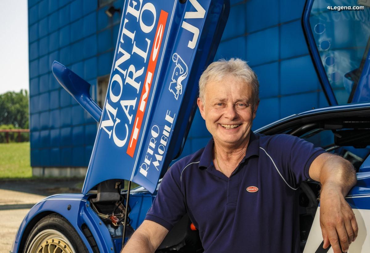 Loris Bicocchi - Expert en vitesse chez Bugatti