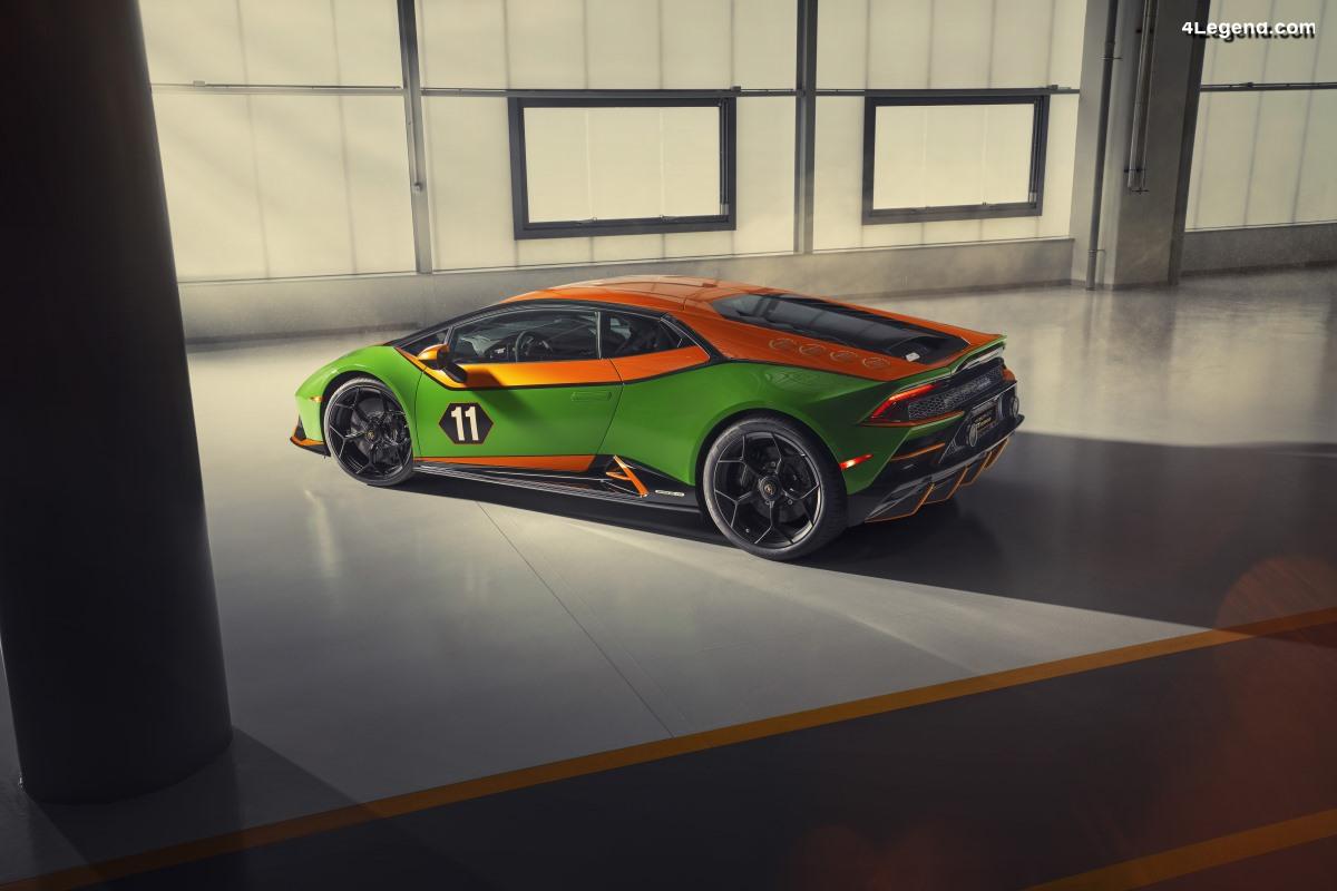 Lamborghini Huracán EVO GT Celebration - 36 exemplaires pour l'Amérique du Nord