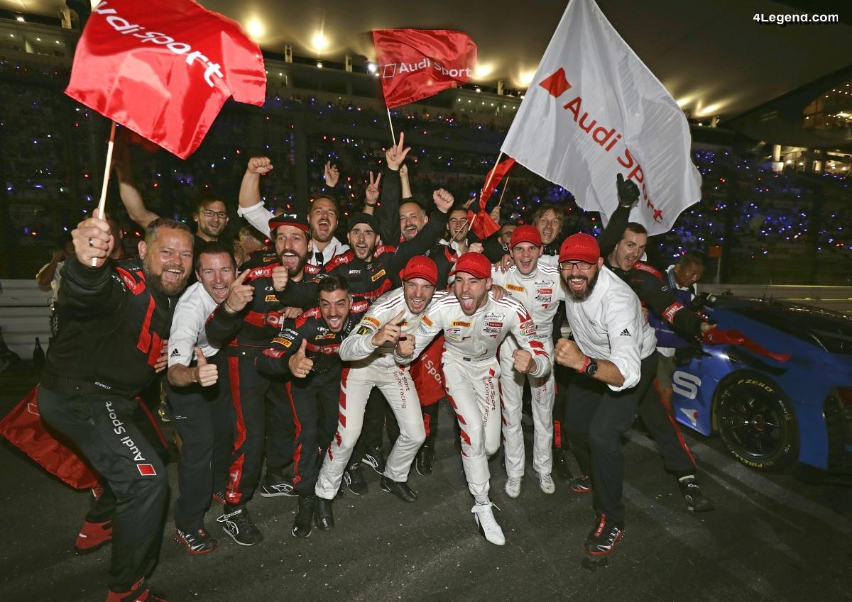 10 Heures de Suzuka 2019 - Victoire d'Audi Sport