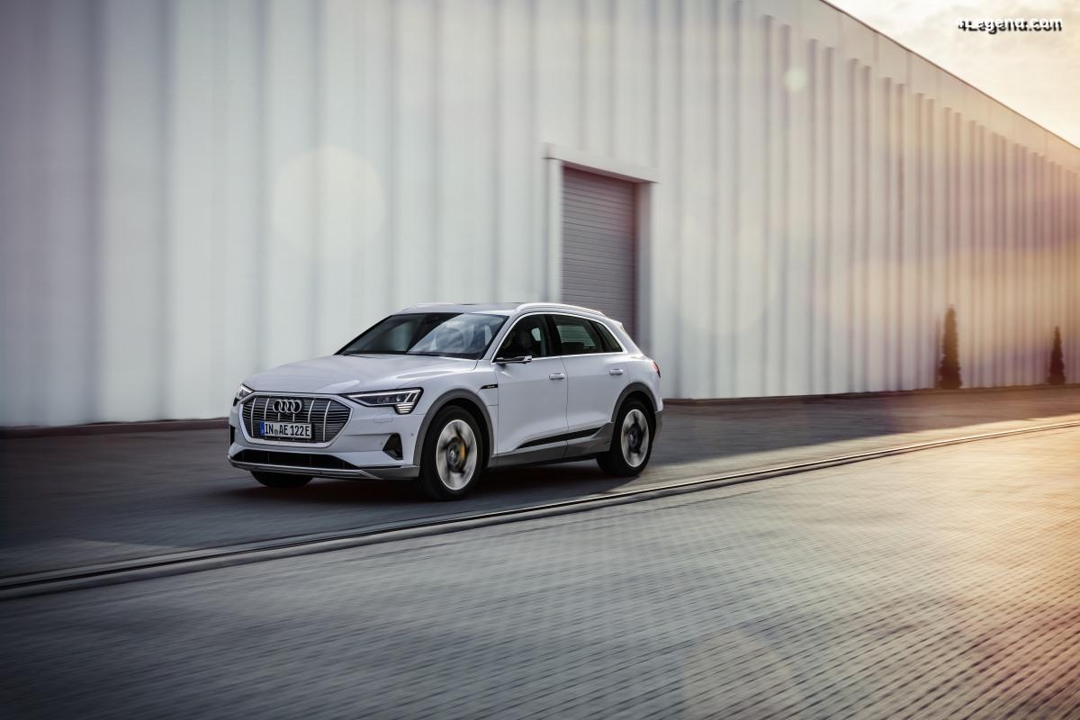 Audi e-tron 50 quattro - Une version moins puissante avec 300 km d'autonomie