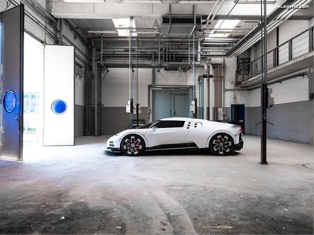 Bugatti Centodieci - 10 exemplaires à 8 millions d'euros