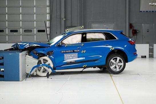 L'Audi e-tron remporte le classement «Top Safety Pick +» 2019 de l'IIHS