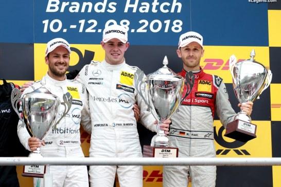 DTM : Quatre Audi RS 5 DTM aux 5 premières places à Brands Hatch
