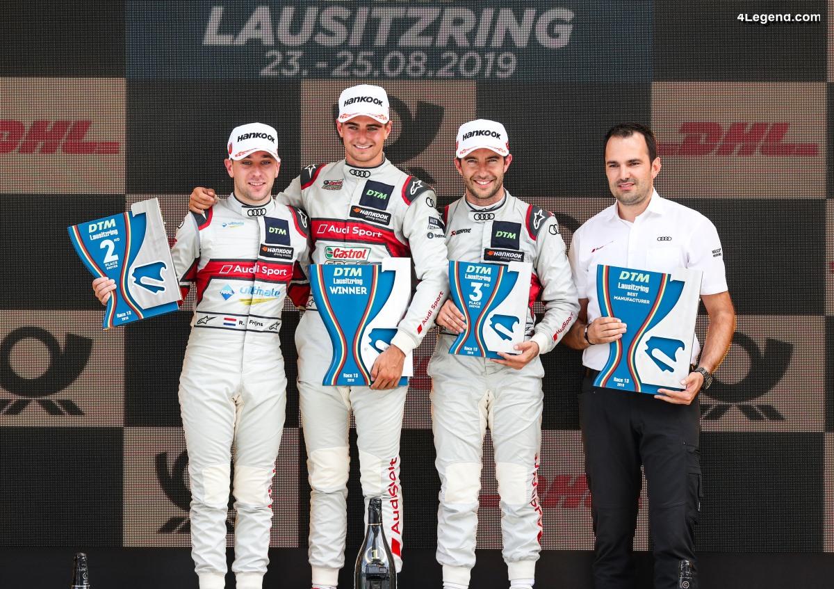 DTM - Seconde victoire de la saison du pilote Audi Nico Müller au Lausitzring