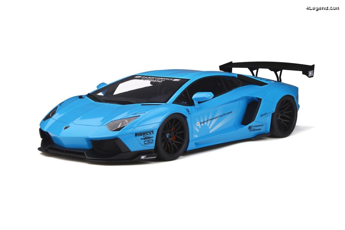 Nouveauté miniature 1:12 Kyosho by GT Spirit - LB-Works Lamborghini Aventador