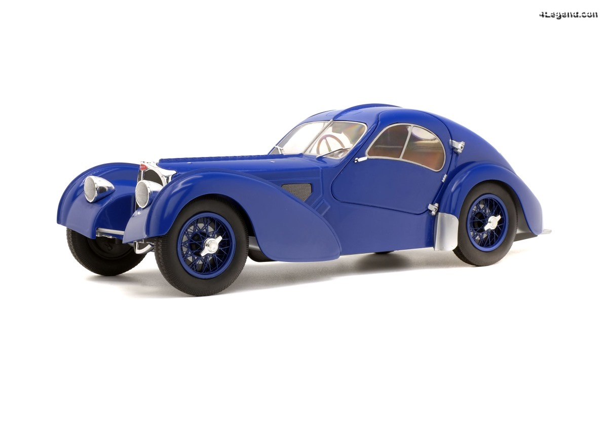 Miniature 1:18 Bugatti Type 57 SC Atlantic - Solido