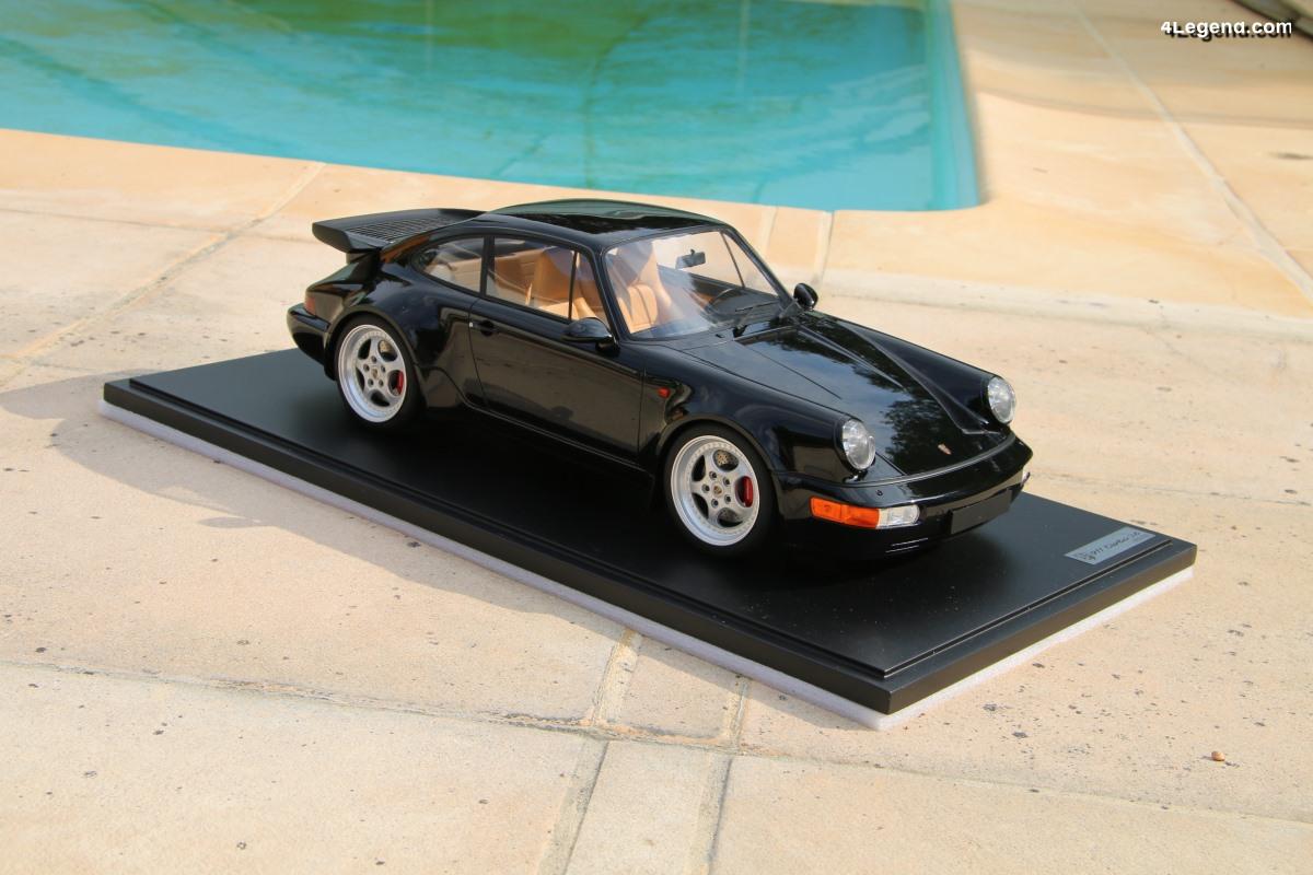 Présentation miniature 1:8 Porsche 911 Turbo 3.6 de 1993 - GT Spirit