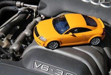 Présentation miniature 1:18 Audi TT 3.2 Coupé quattro – DNA Collectibles
