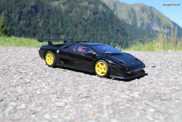 Présentation miniature 1:18 Lamborghini Diablo SVR de 1996 par GT Spirit / Kyosho