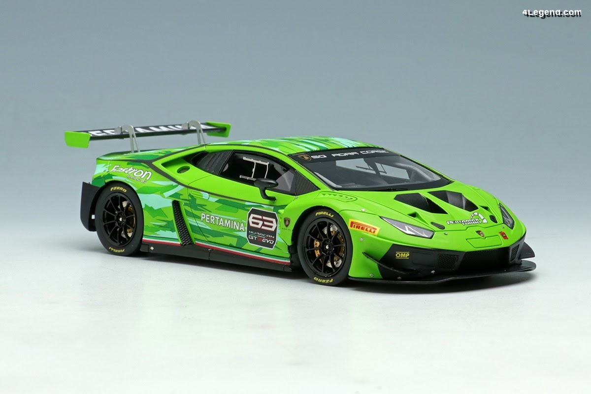 Miniatures Make Up Eidolon au 1:43 - Lamborghini Huracán GT3 EVO 2018